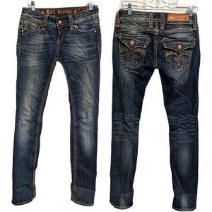 Rock Revival Debbie Straight Jeans Size 26 EUC